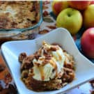 Apple Dump Cake Dessert Recipe