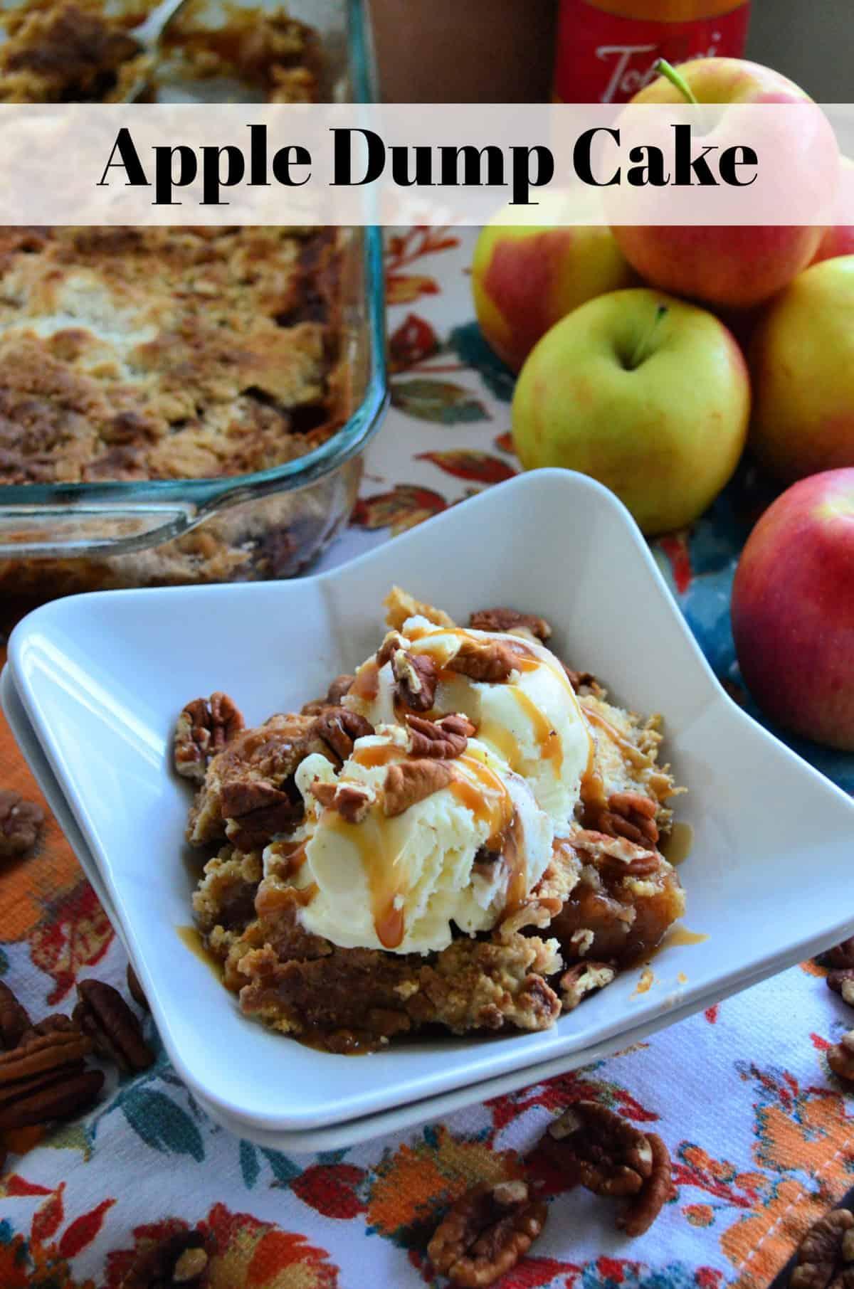 Apple Dump Cake Dessert Recipe