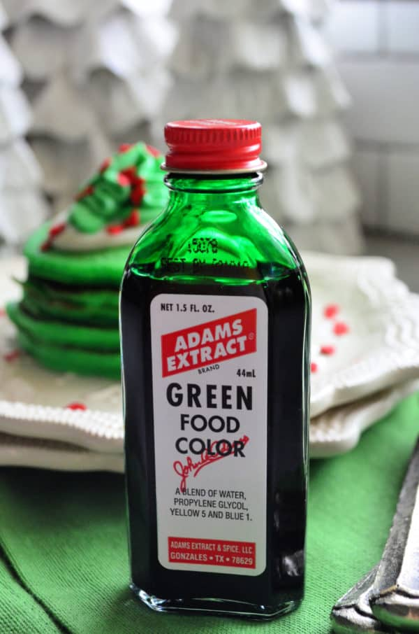Adam's Extract green Food Coloring
