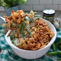 Homemade Green Bean CasseroleHomemade Green Bean Casserole