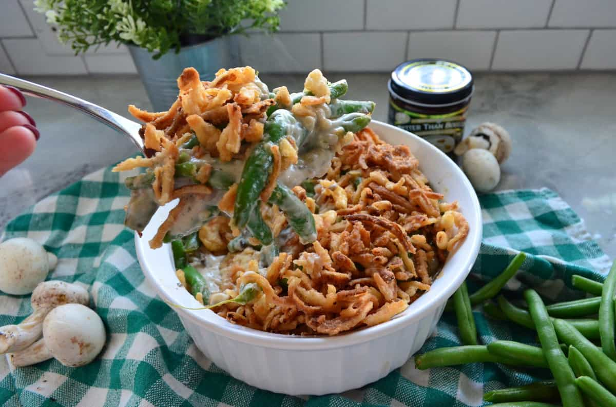 Homemade Green Bean CasseroleHomemade Green Bean Casserole