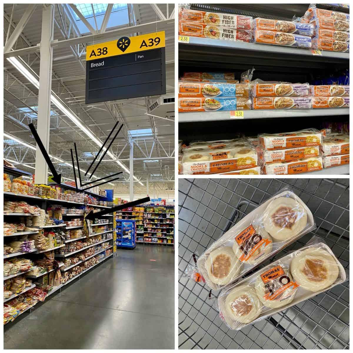 Thomas English Muffins at Walmart