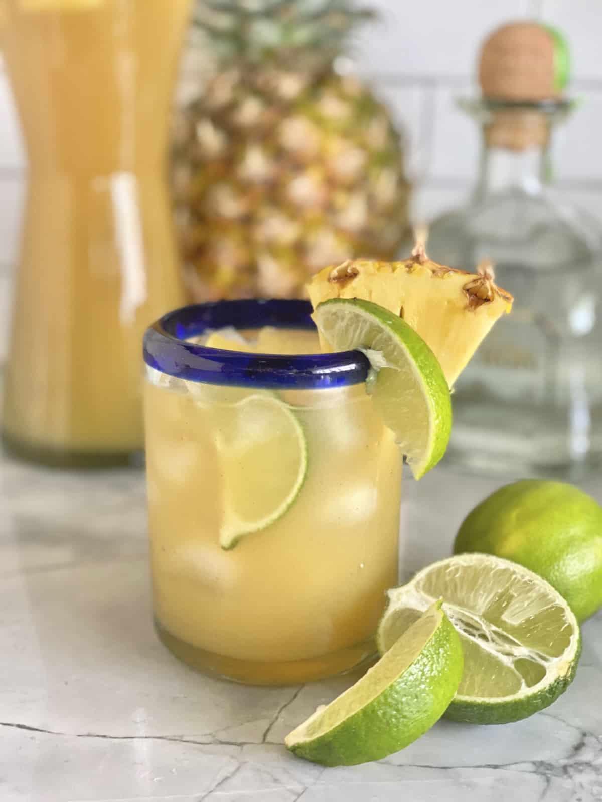 Pineapple Tequila Cooler Katie S Cucina